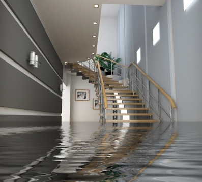 Flooding damage in your home